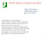 Fisica delle Particelle - Stage Estivo 2016 - Copertina