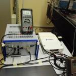 Elettronica di controllo dell'attuatore piezoelettrico.