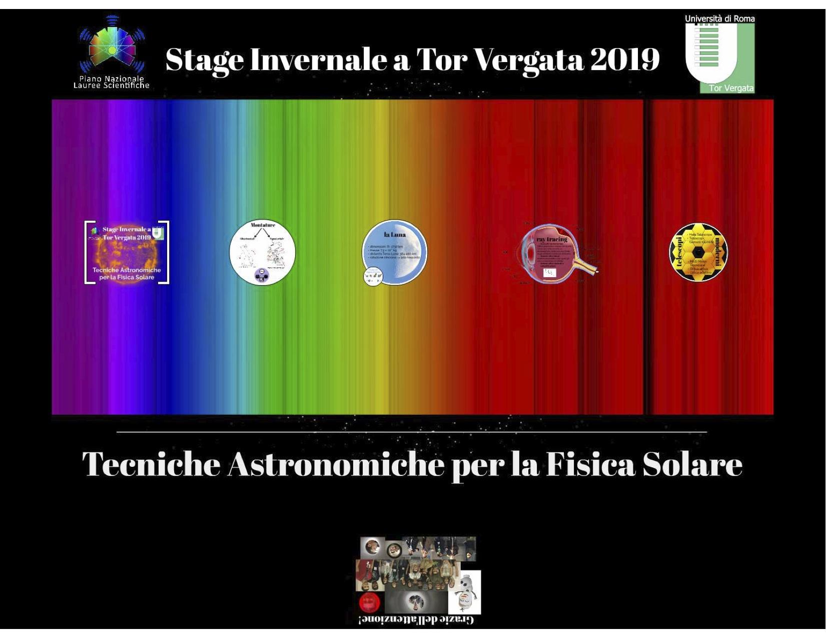 Stage Estivo 2016 - Fisica Solare - Copertina