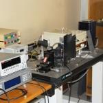 Set-up ottico per misure di fotocorrente
